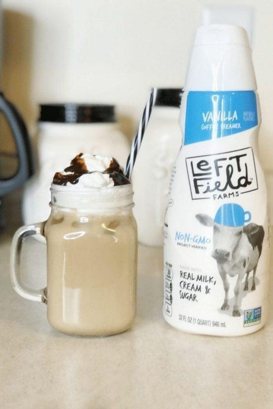 Easy Iced Vanilla Coffee