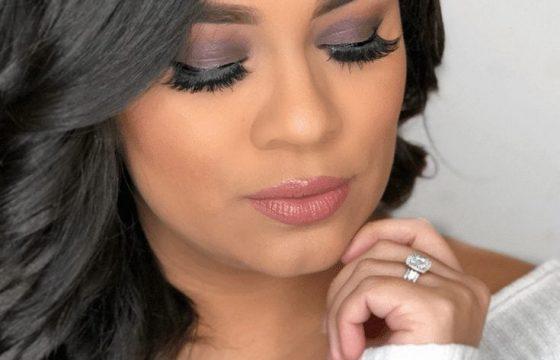 Sultry Purple Drugstore Makeup Look