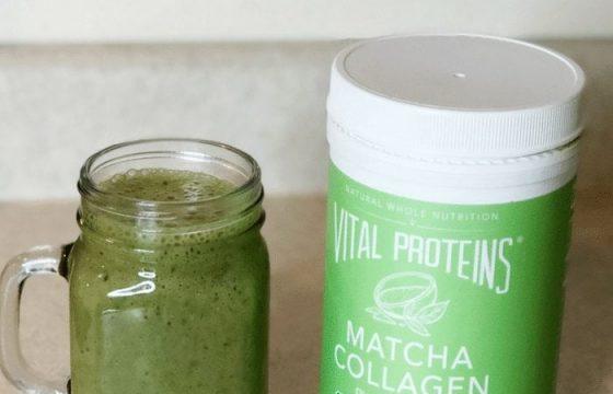 Vital Proteins Matcha Smoothie