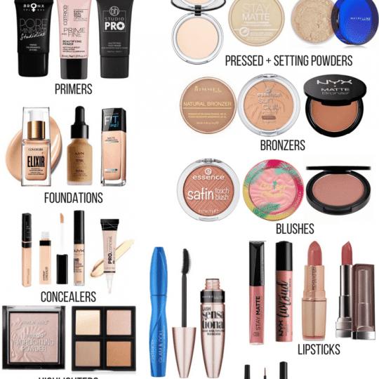 Ride or Die Drugstore Makeup