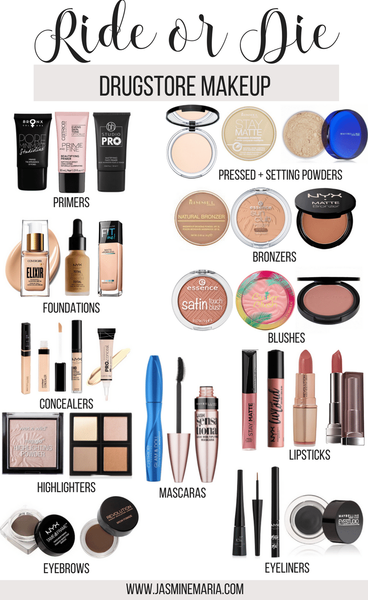 Ride or Die Drugstore Makeup