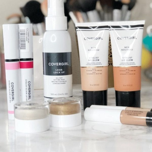 COVERGIRL Vitalist Healthy Glow Collection Review