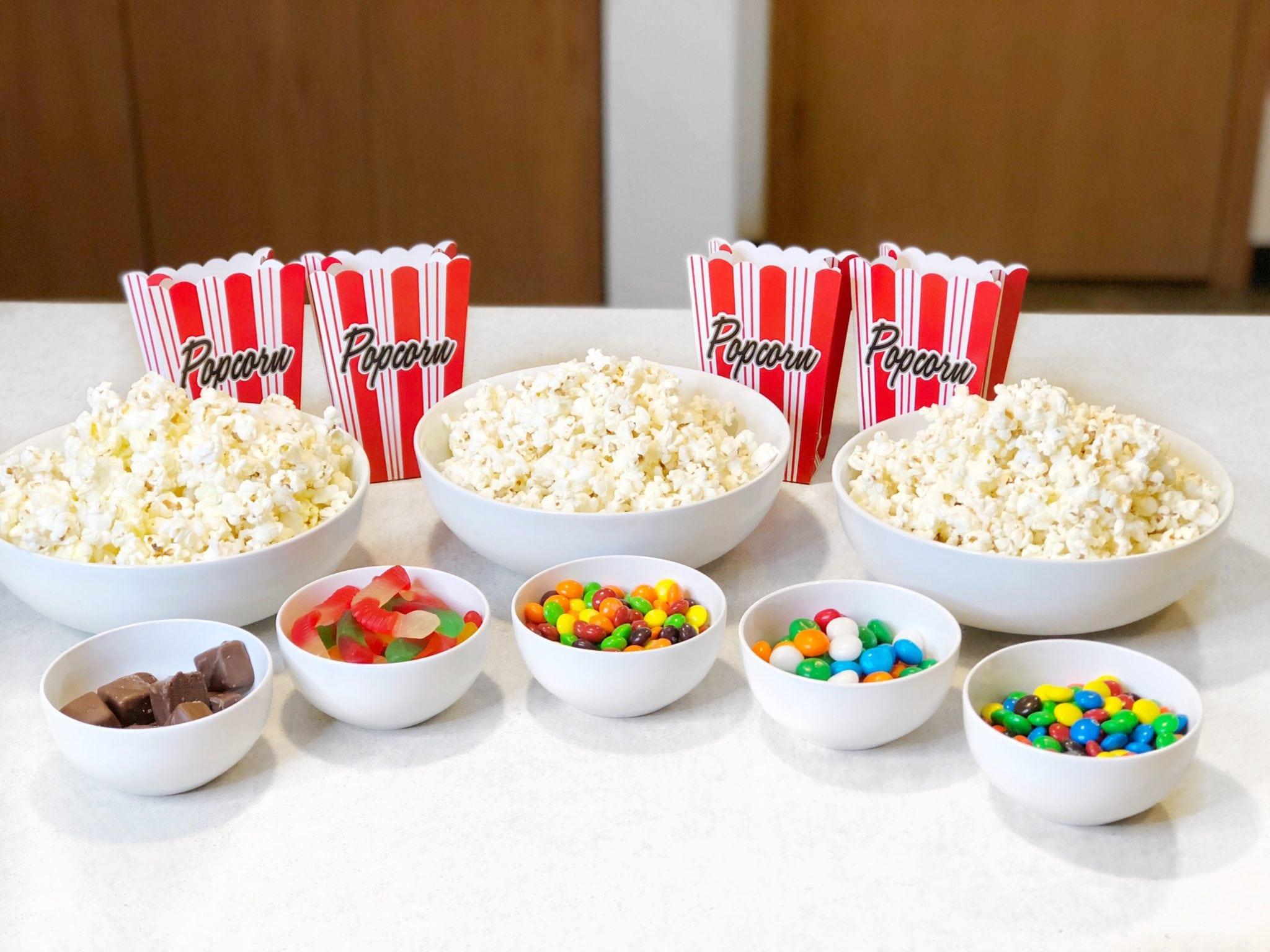 Family Movie Night with Quinn Snacks