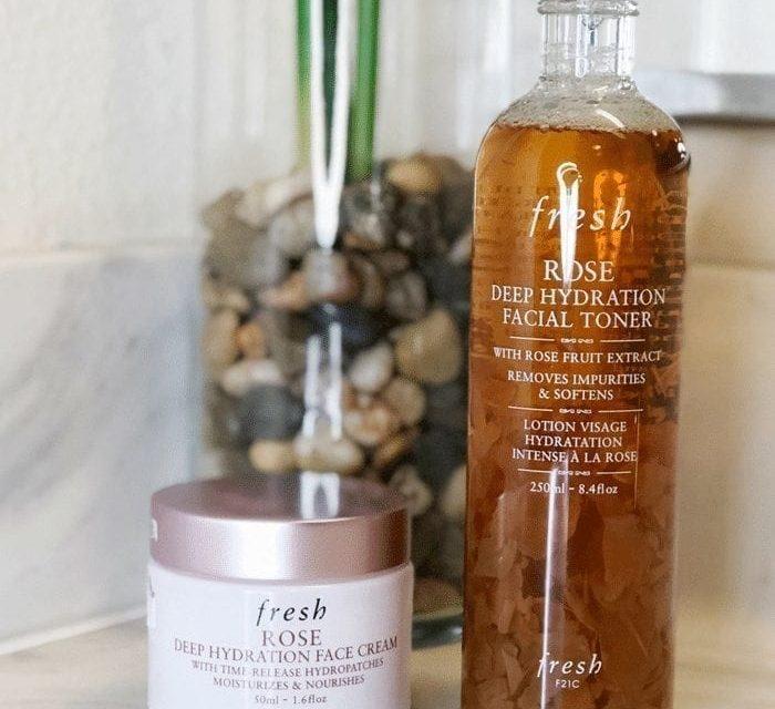 Fresh Beauty Rose Toner and Face Cream