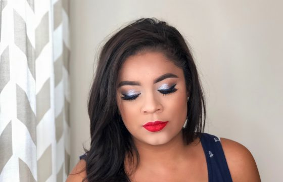 Beauty Mix: 4th of July Makeup Look