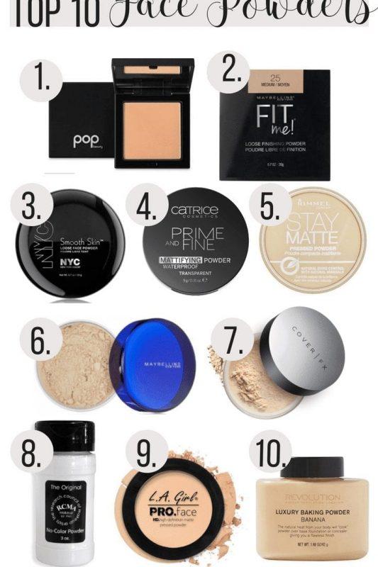Top 10 Face Powders