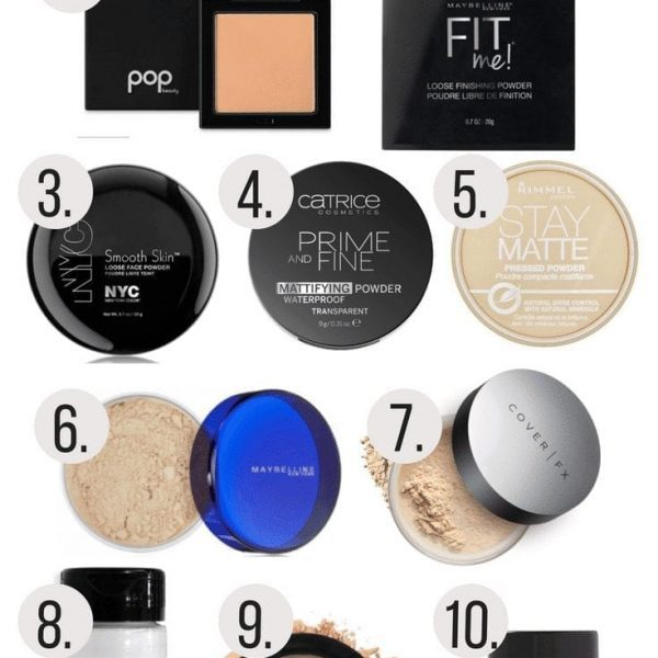 Top 10 Face Powders