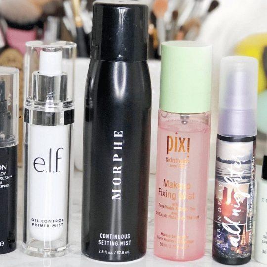6 Makeup Setting Sprays for Summer
