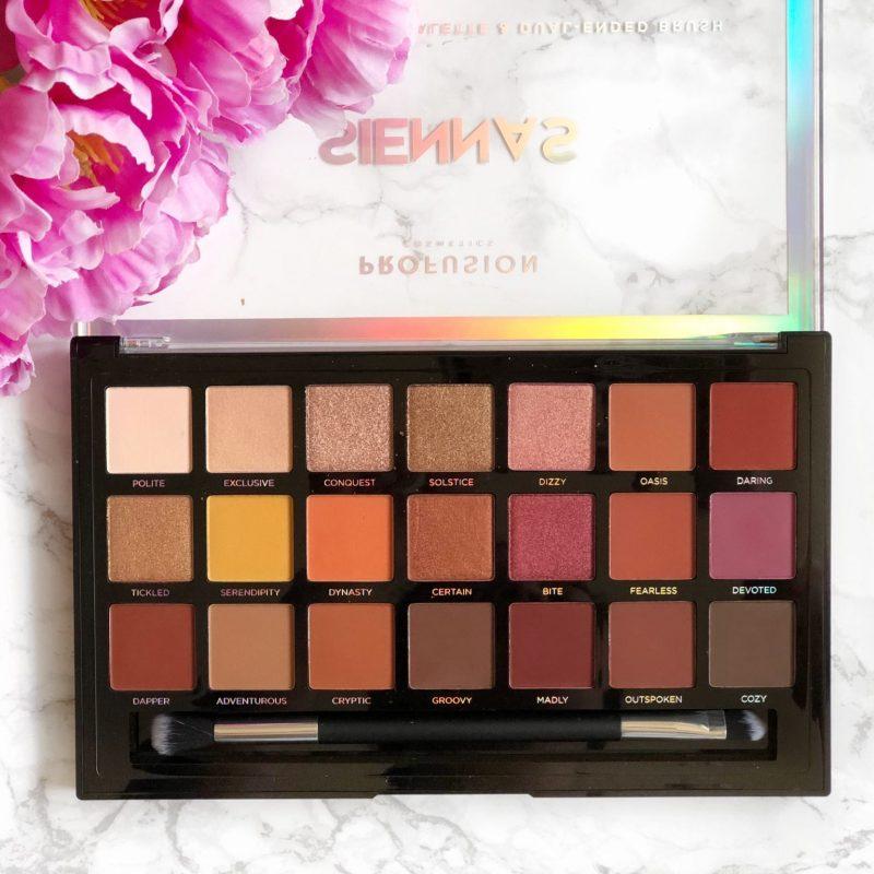 Profusion Cosmetics Siennas Eyeshadow Review + Makeup Look