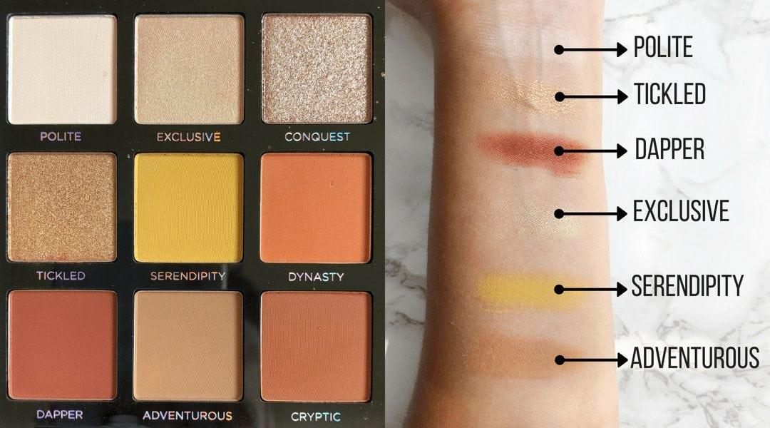 Profusion Cosmetics Siennas Eyeshadow Review