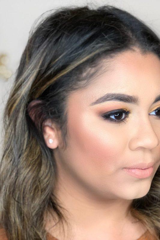 Beauty Mix - Yellow Makeup Look