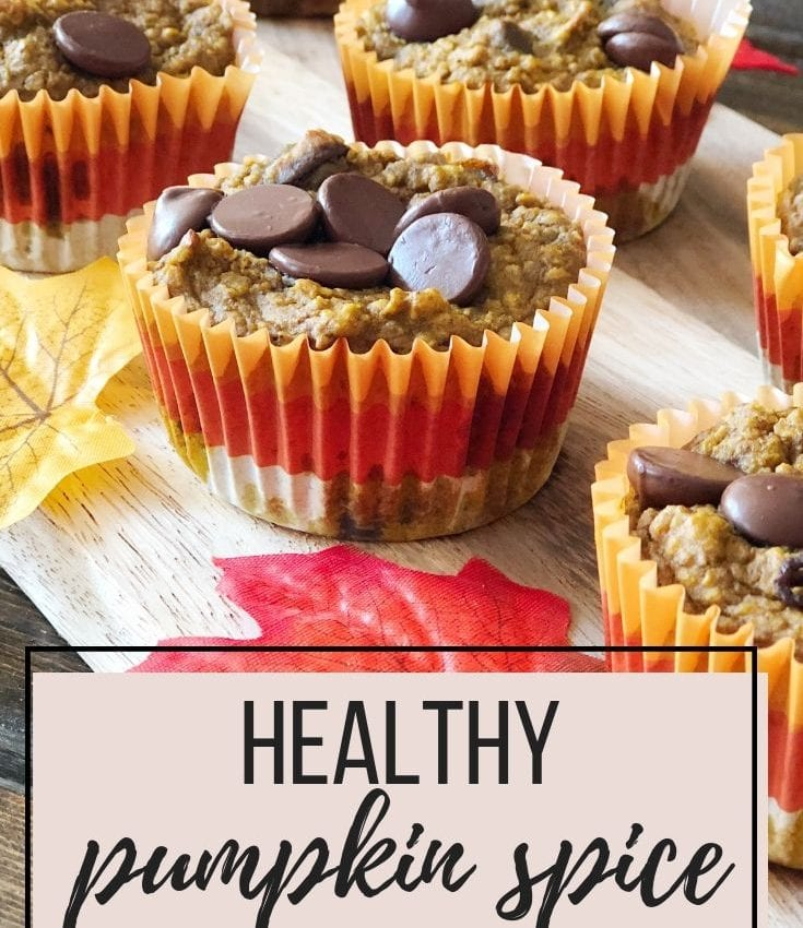 how to make healthy pumpkin spice muffins