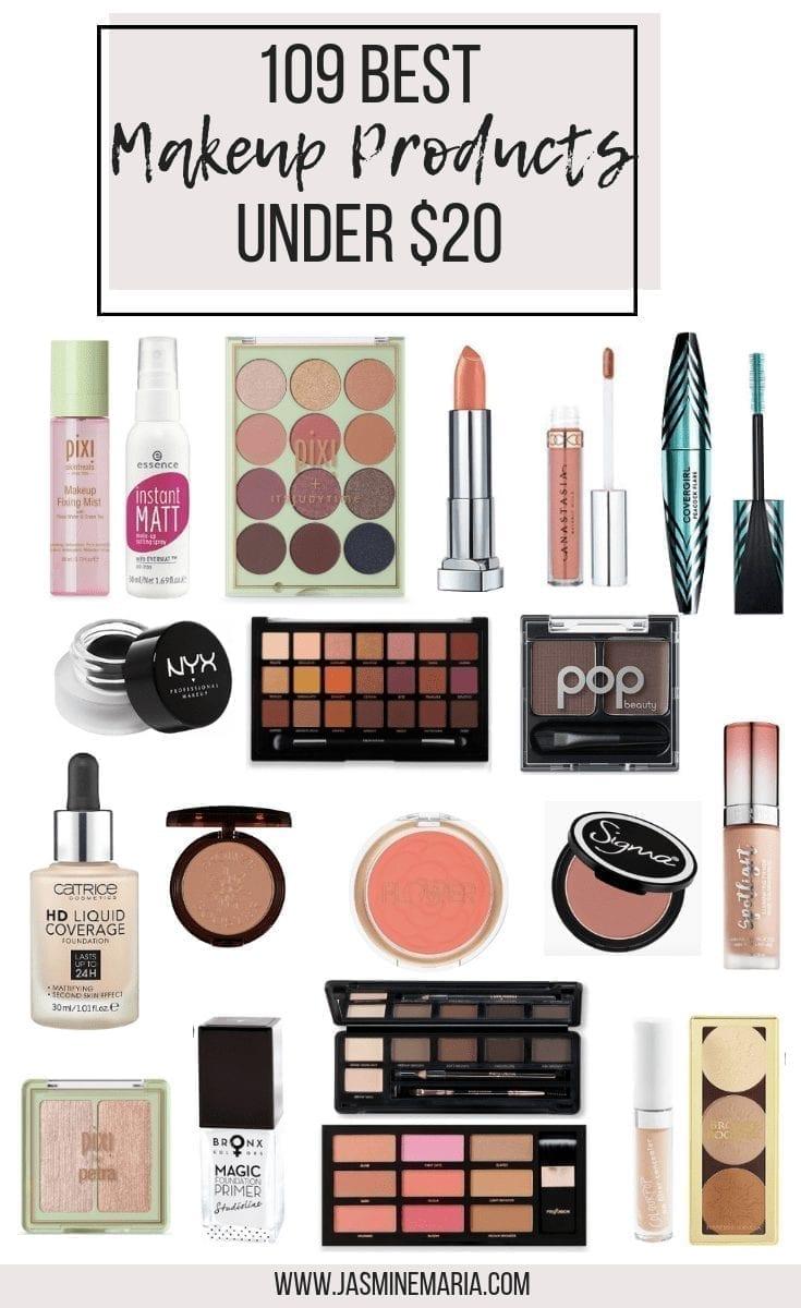 109 Best Makeup Products Under $20