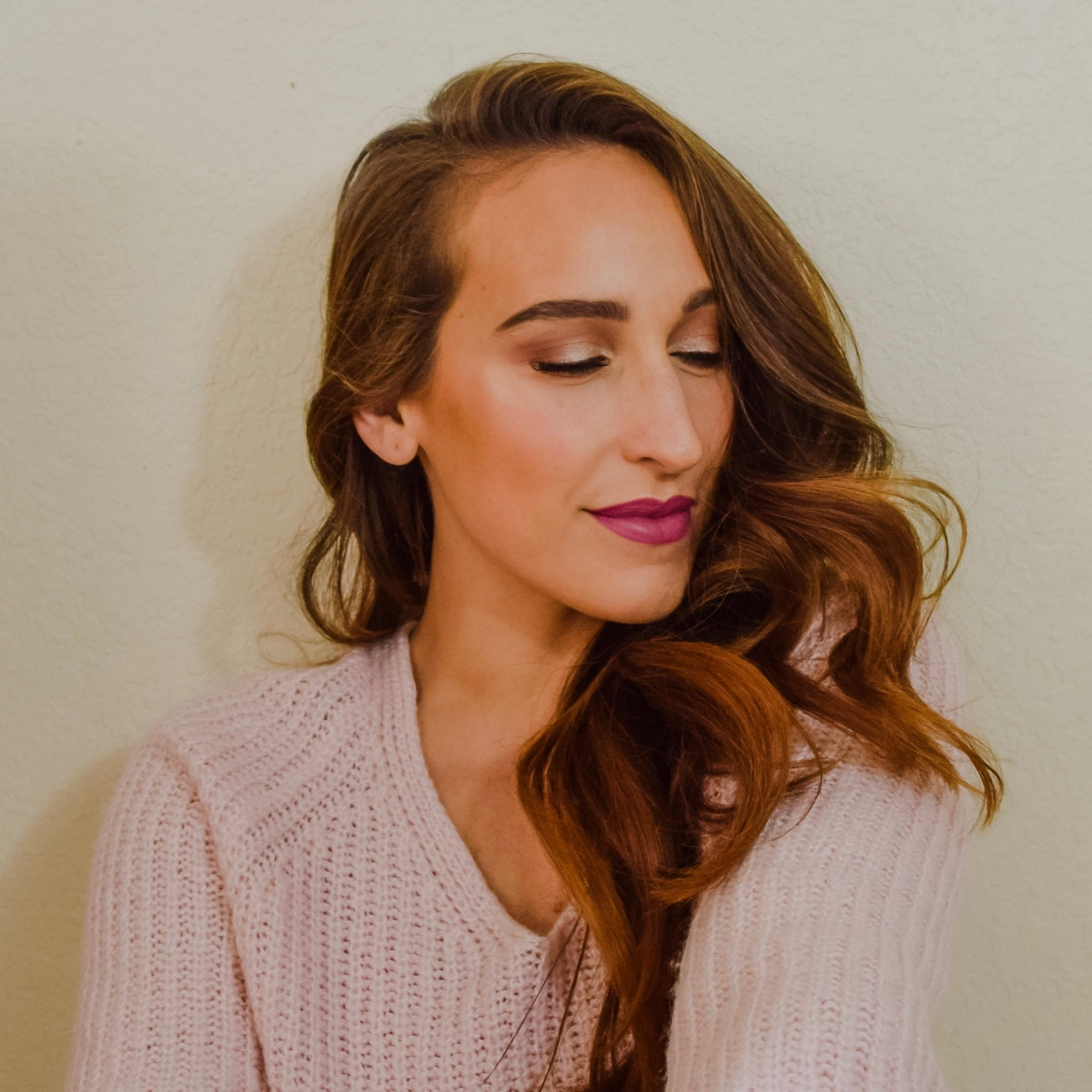 Mauve Fall Makeup Look