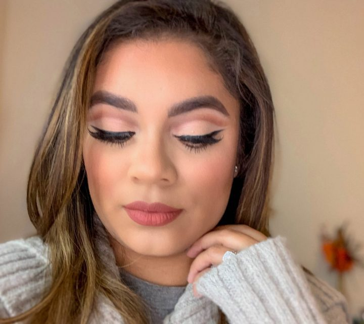 Orange Cut Crease Makeup Look