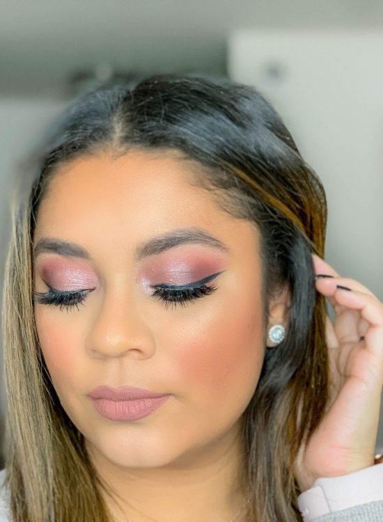 Glam Plum Makeup