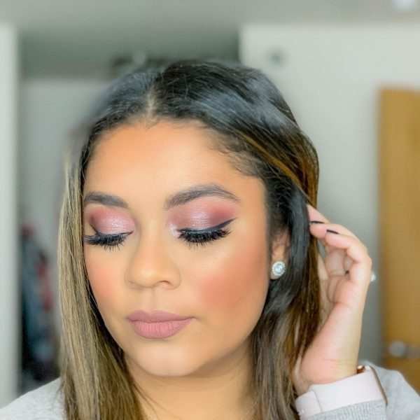 Glam Plum Makeup