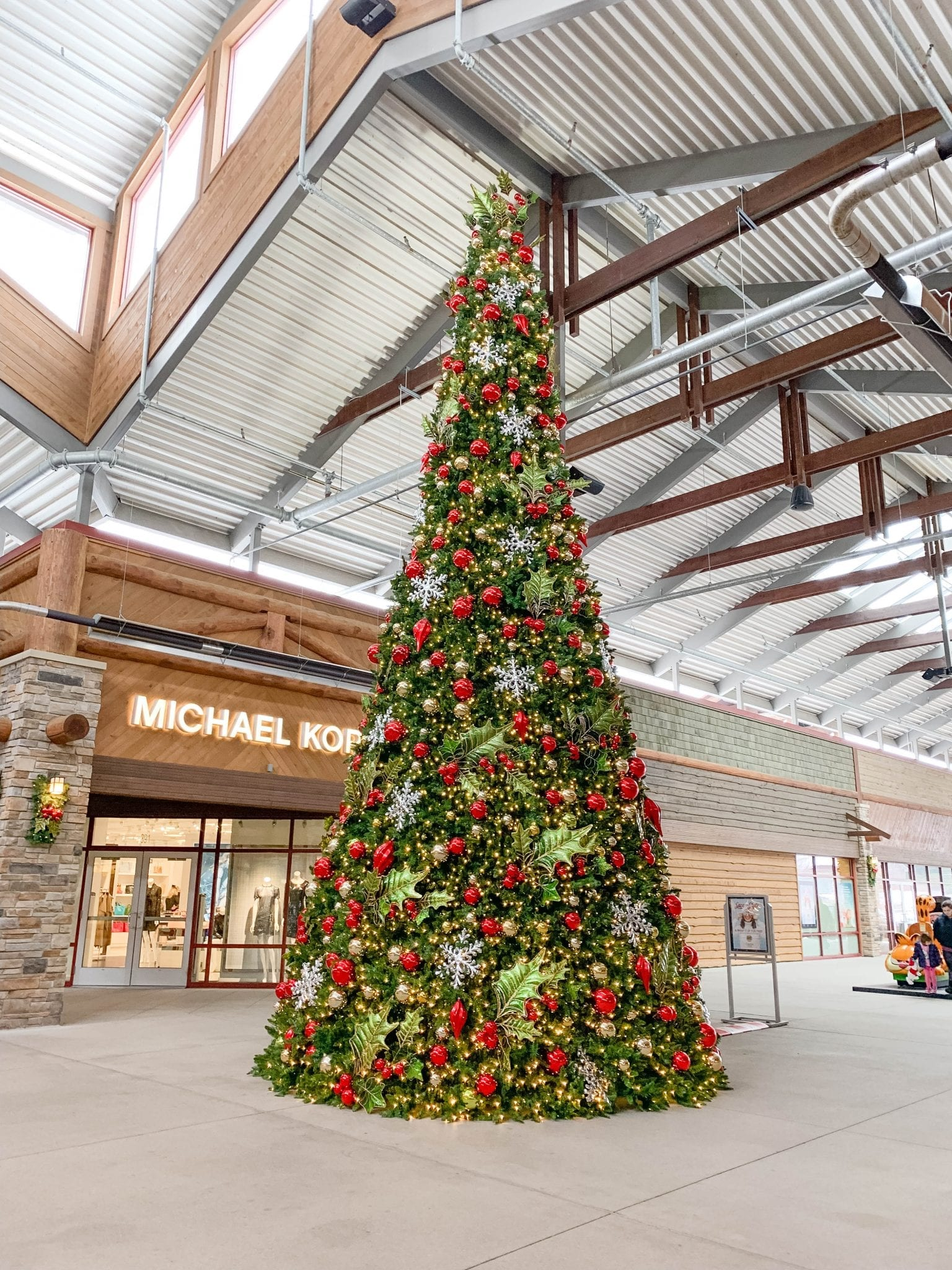 Holiday Shopping at Outlets at the Dells