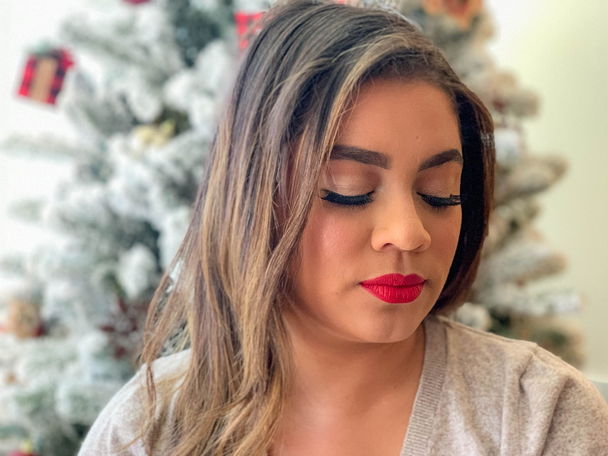 Simple Christmas Look