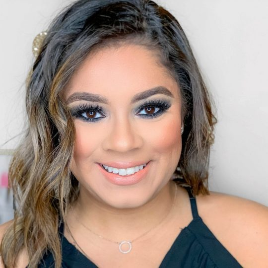 Sparkly Smokey Eye Look for New Year's Eve
