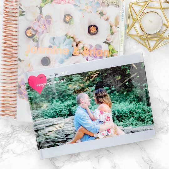 Engagement Photo Book with Snapfish