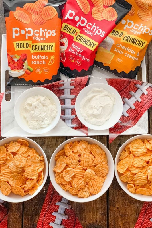 Game Day Snacks with Popchips