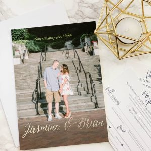 Our Wedding Invitations with Basic Invite