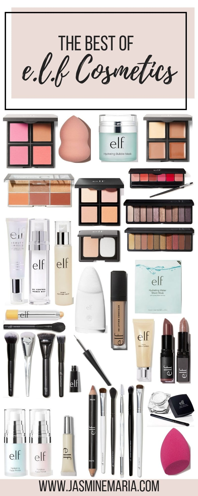 The Best Of E L F Cosmetics Jasmine
