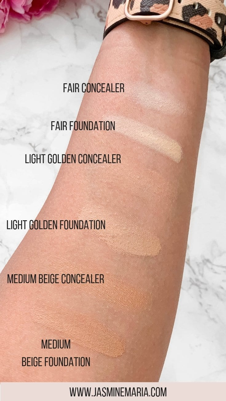 AmazingCosmetics Smooth Crème Concealer & Foundation