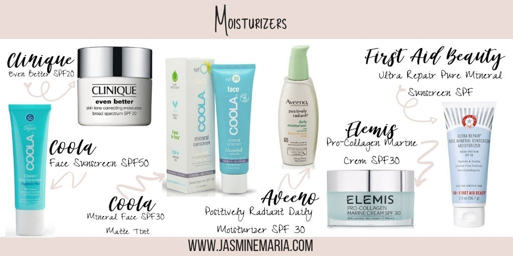 Best Face Products That Contain SPF