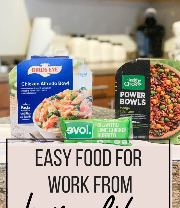 Easy Food for Work From Home Life