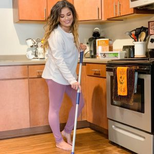 Easy Cleaning with Bona