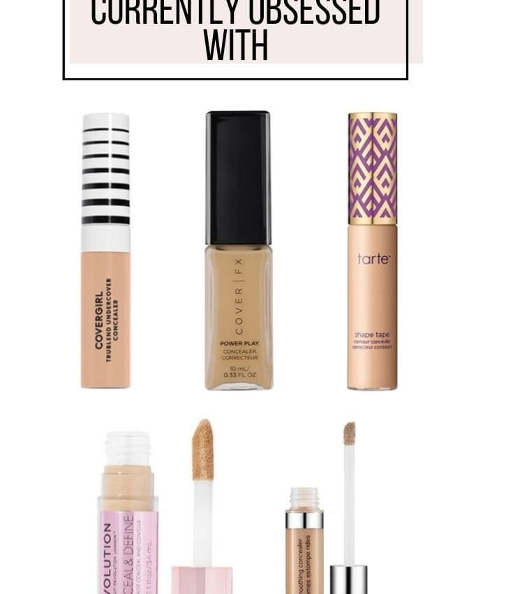 Top 5 Concealers Currently Obsessed With