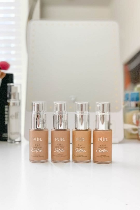 PUR Cosmetics 4-in-1 Love Your Selfie Foundation Review