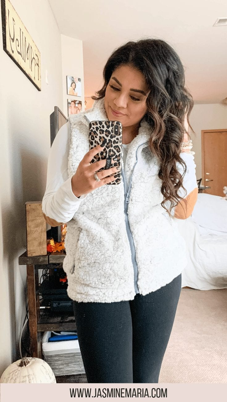 Sherpa Vests Under $40