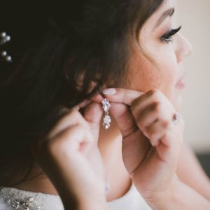 Wedding Hair Makeup & Dress Details