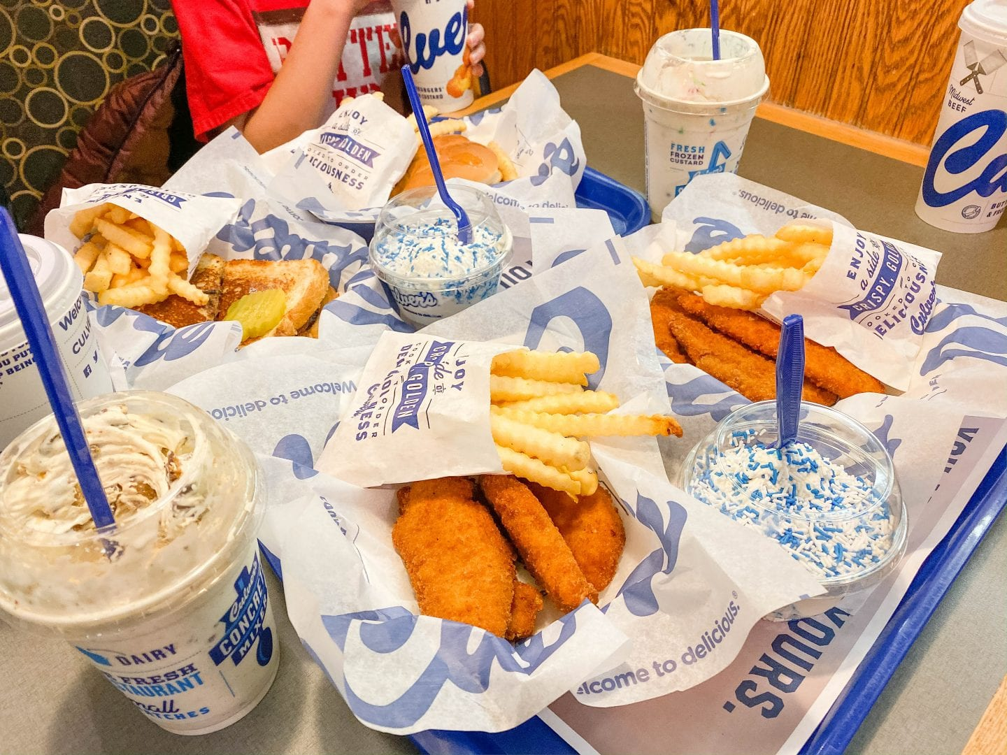 Family Holiday Traditions with Culver's
