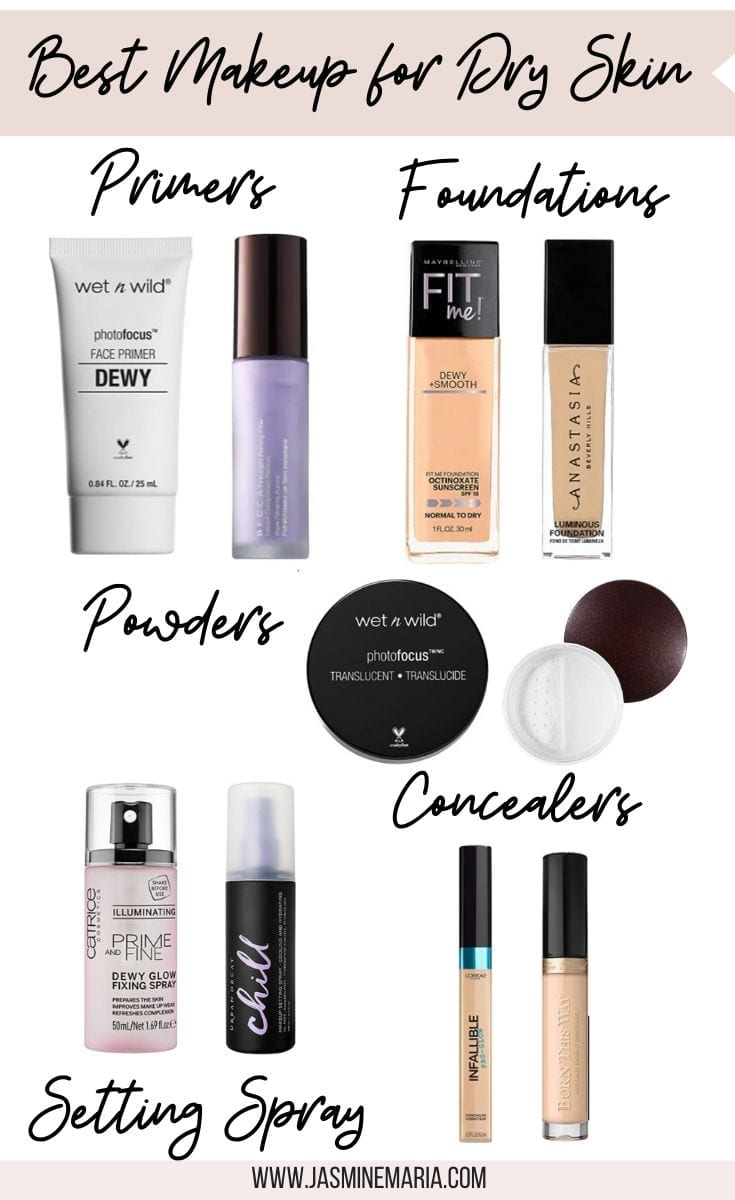 Best Makeup for Dry Skin