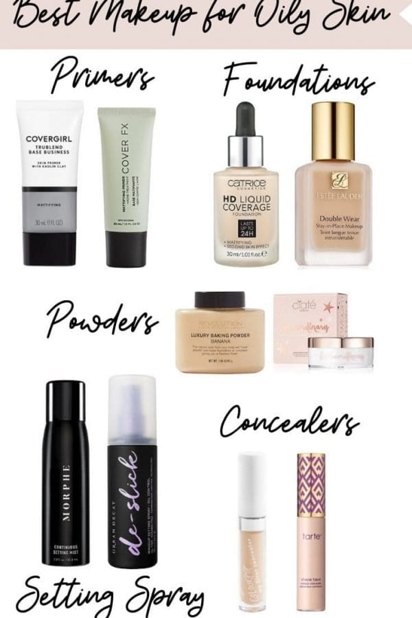 [Updated] Best Makeup Products for Oily Skin