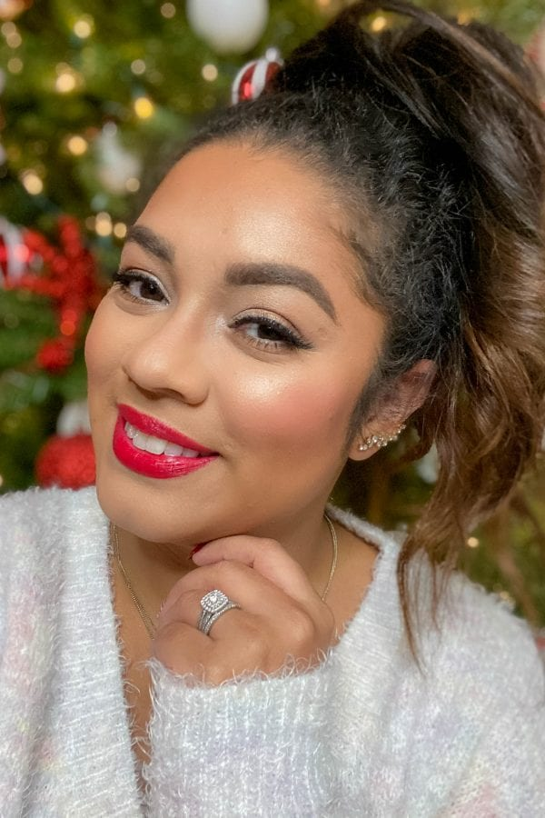 Classic Christmas Makeup Look