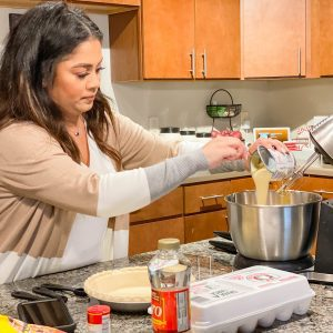 Mobile Devices as Kitchen Assistants for the Holidays