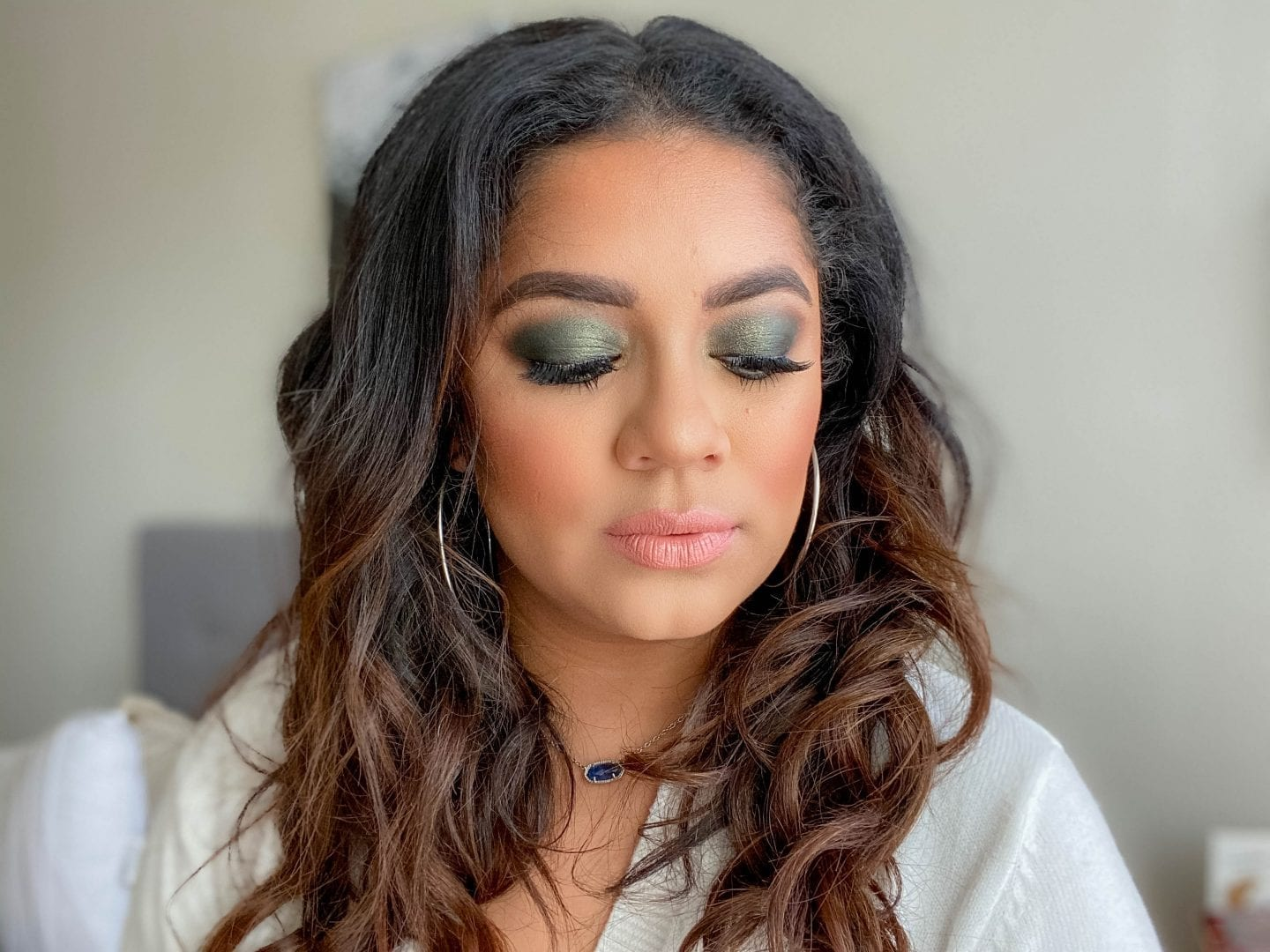 Holiday Beauty | Olive Green Eye Look