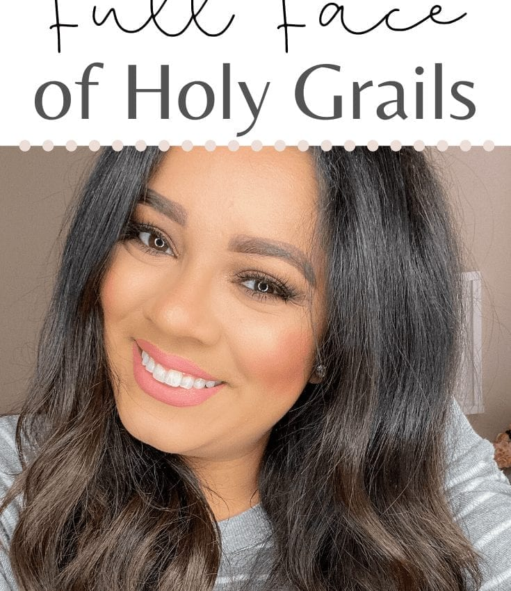 Full Face of Makeup Using Holy Grail Products