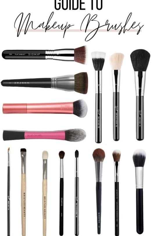 Guide to Makeup Brushes