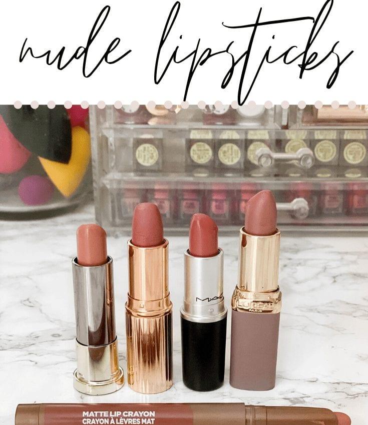 5 best nude lipsticks
