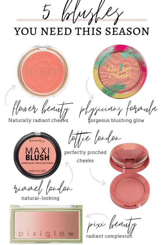 5 Blushes You Need This Season