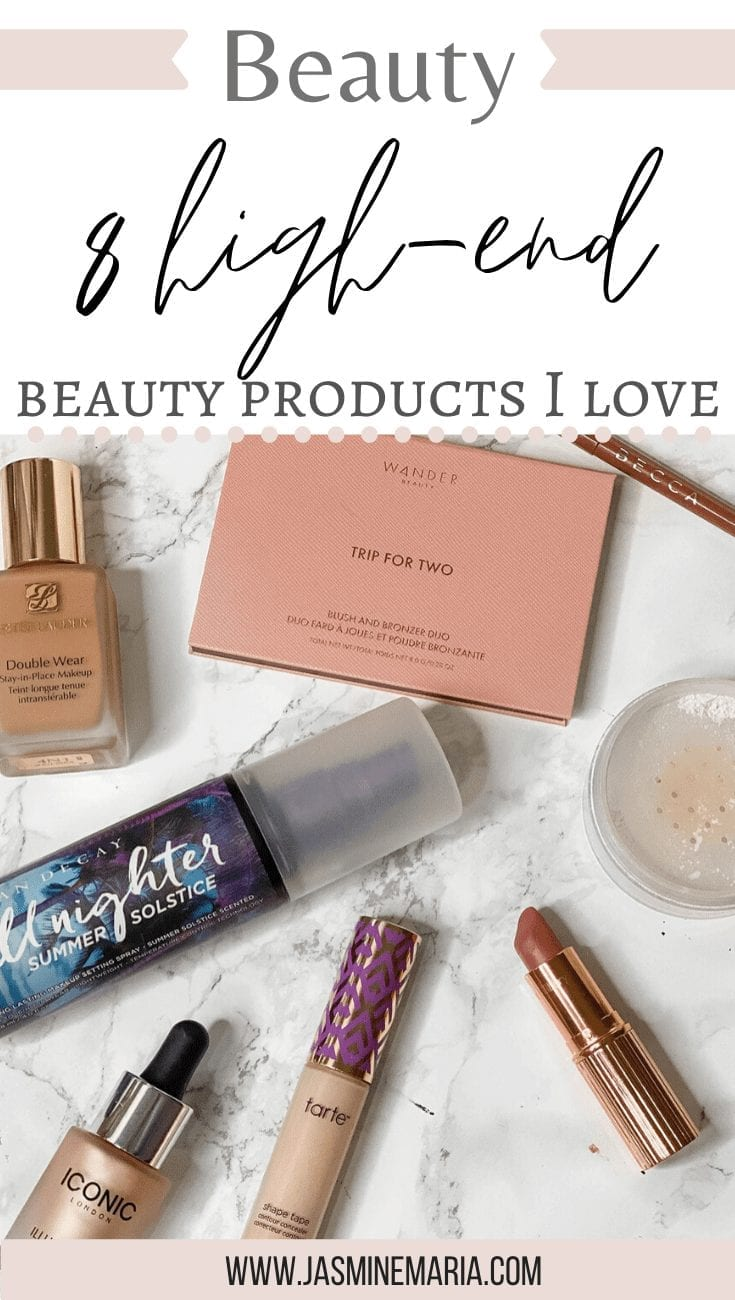 8 High-End Beauty Products I Love