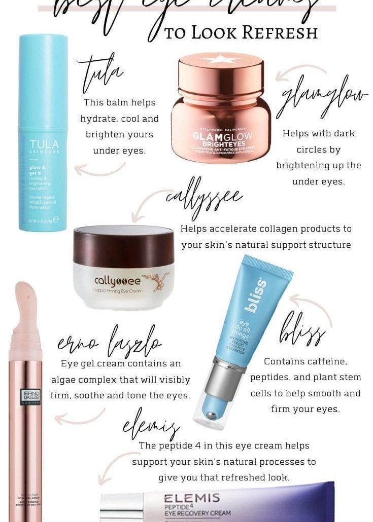 Best Eye Creams to Look Refresh