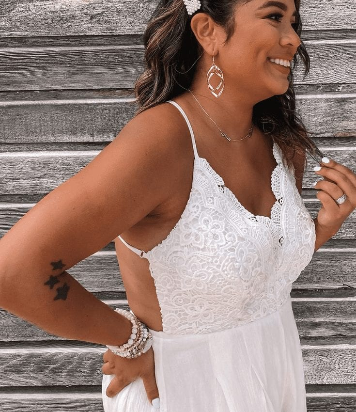 White Bridal Event Outfits