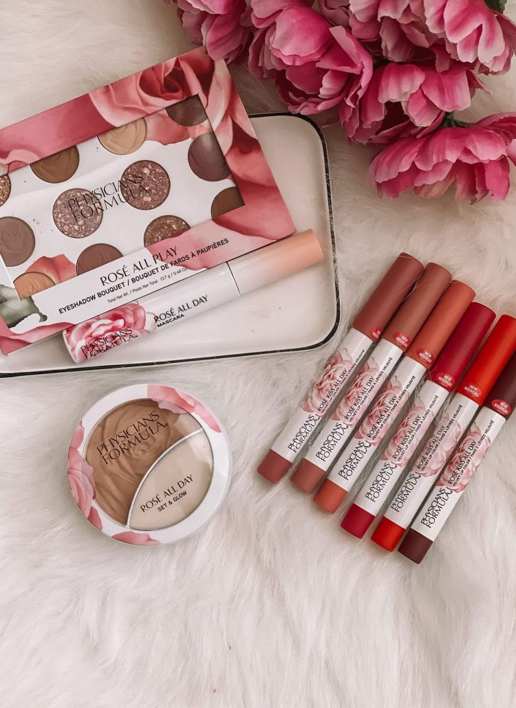 Fall Makeup Look Using Physicians Formula Rose Collection